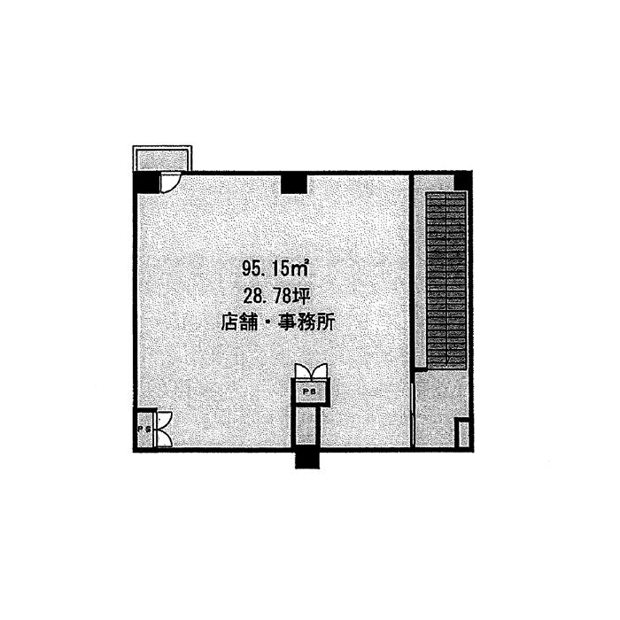 大須3 プレミアム大須 平面図