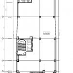 錦三丁目ホテルPJ 2階平面図