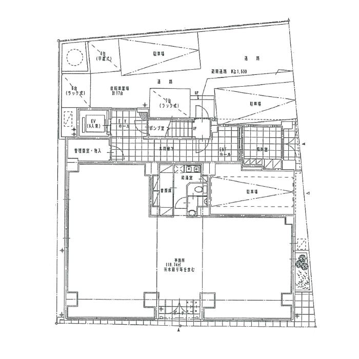 セイワソレイルコート 1階平面図