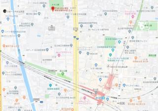 イトーピア正木公園マンション 地図