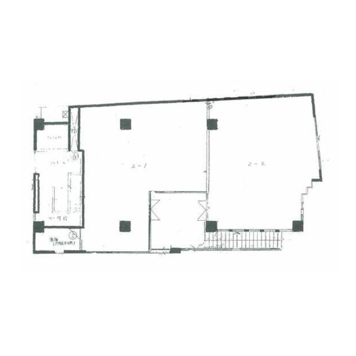 池下1 泰明ビル 平面図